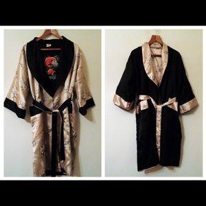 Other - Thai silk robe - reversible kimono